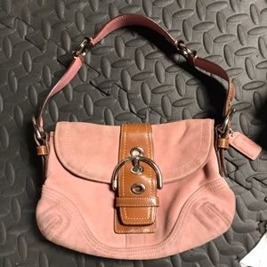 Low price!!!  Authentic Pink Coach purse!!!